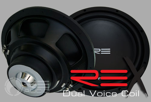 image of rex dual subwoofers