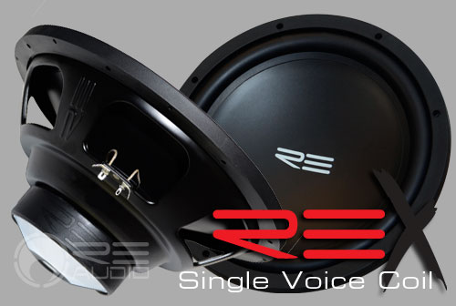 image of rex single subwoofers