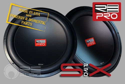 image of sx pro woofer