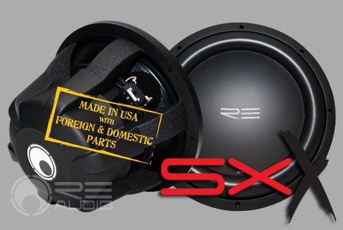 image of sxx subwoofers