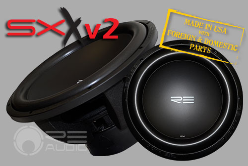 image of sxx version 2 subwoofers